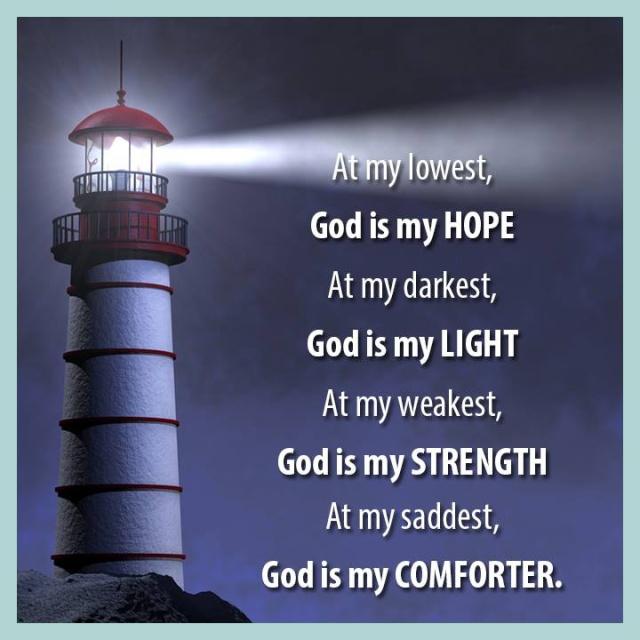 God is my Comforter