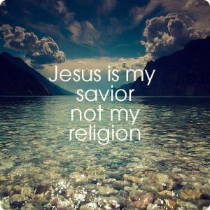 jesussavior notreligion
