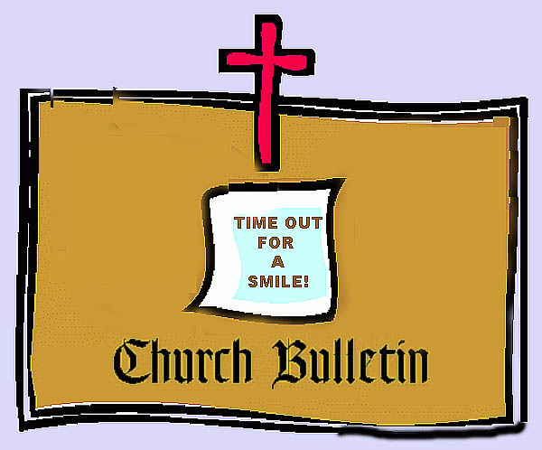 churchbulletinhumor