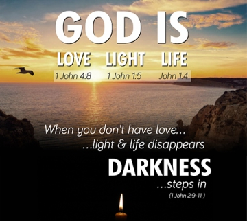 God is love and light