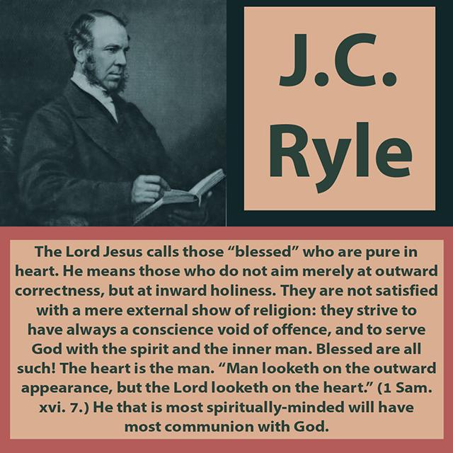 jc ryle communion with God