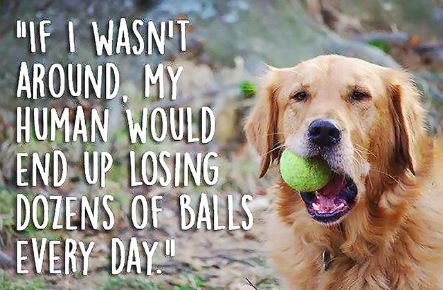losing tennis balls