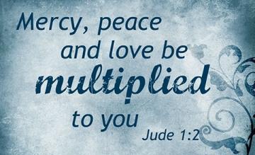 mercy peace love