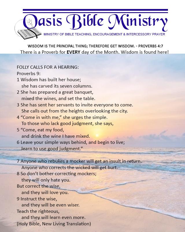012 Proverbs 9_1-9