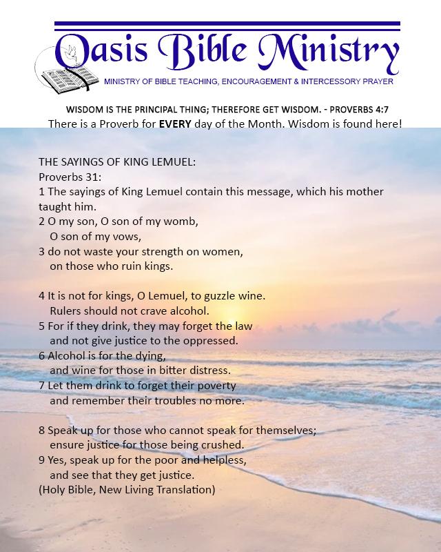 034 Proverbs 31_1-9