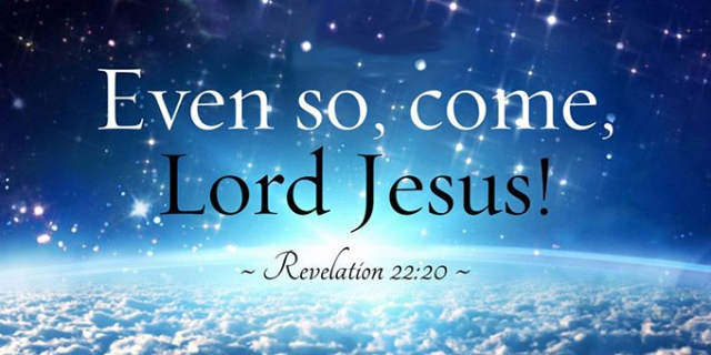 come quickly Lord