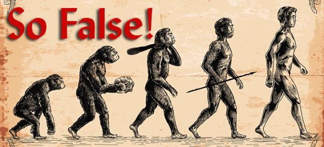 evolution is false wp