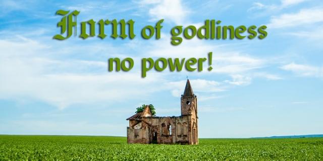 form of godliness