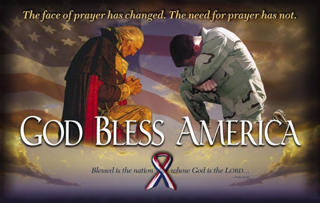 God bless, save america