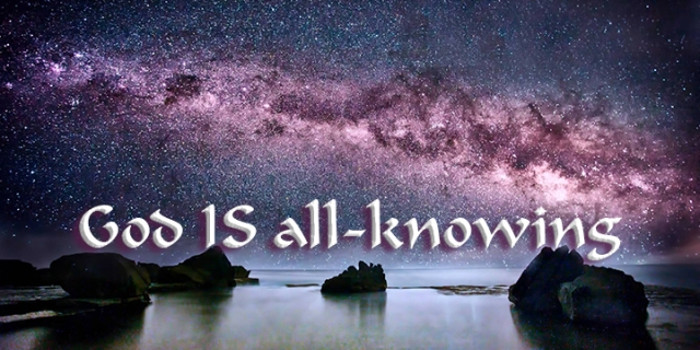 God is all-knowing wp