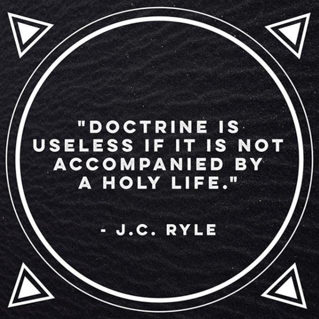 jc ryle on doctrine