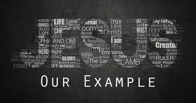 Jesus our example wp