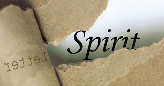 letter - spirit