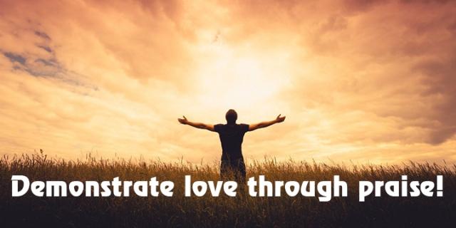 love through praise wp