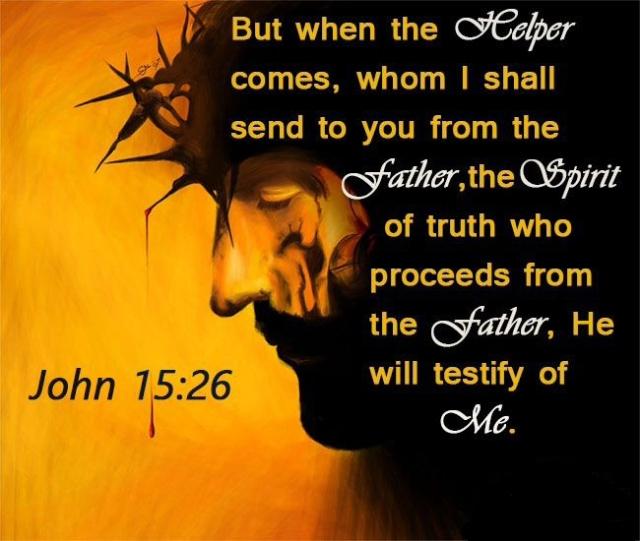 our helper - holy spirit