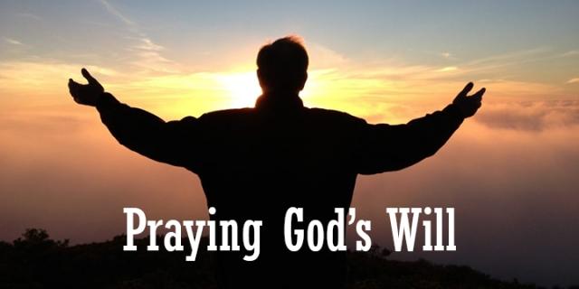 praying God's will wp