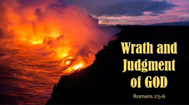 wrath and judgment