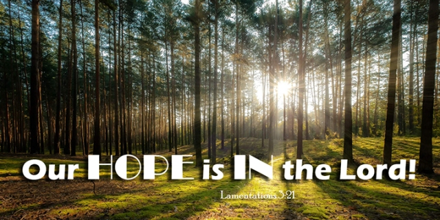 022 our hope in the Lord