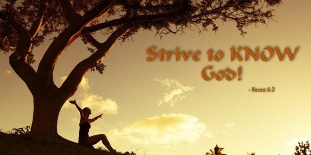 030 intimacy with God