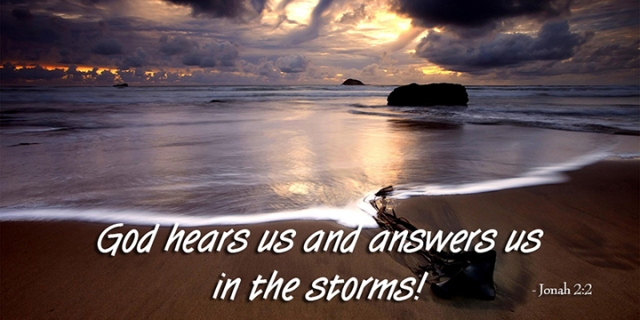 035 God answers in the storms
