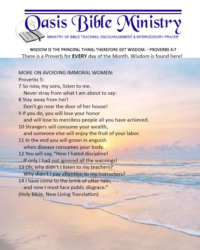 039 Proverbs 5_7-14