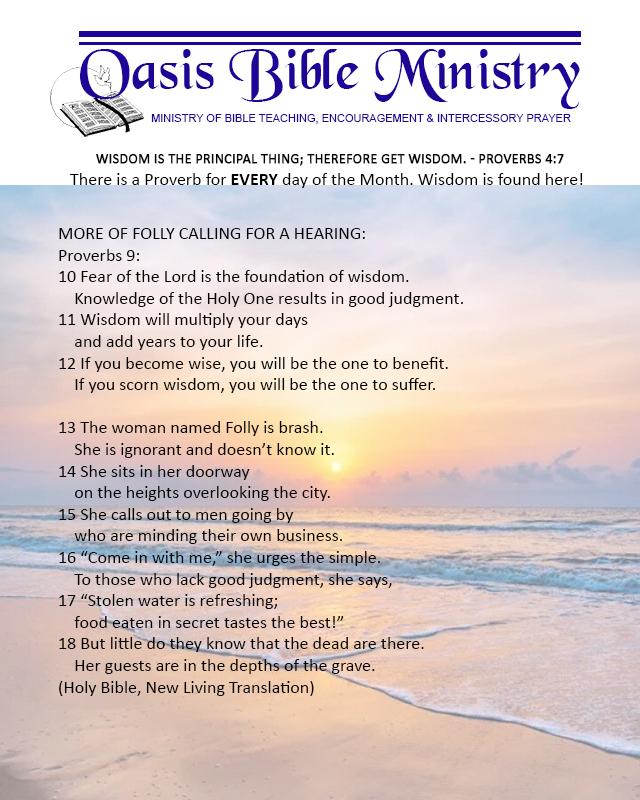 043 Proverbs 9_10-18