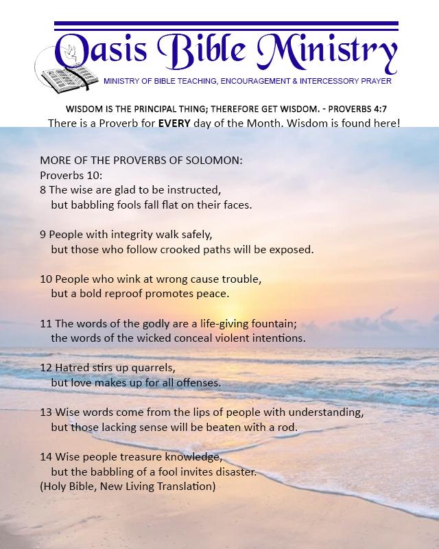 044 Proverbs 10_8-14