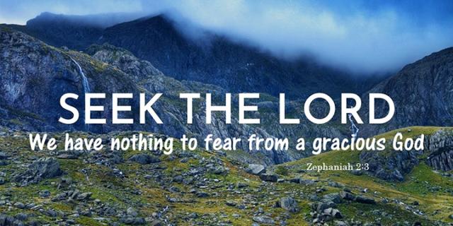 045 seek the Lord