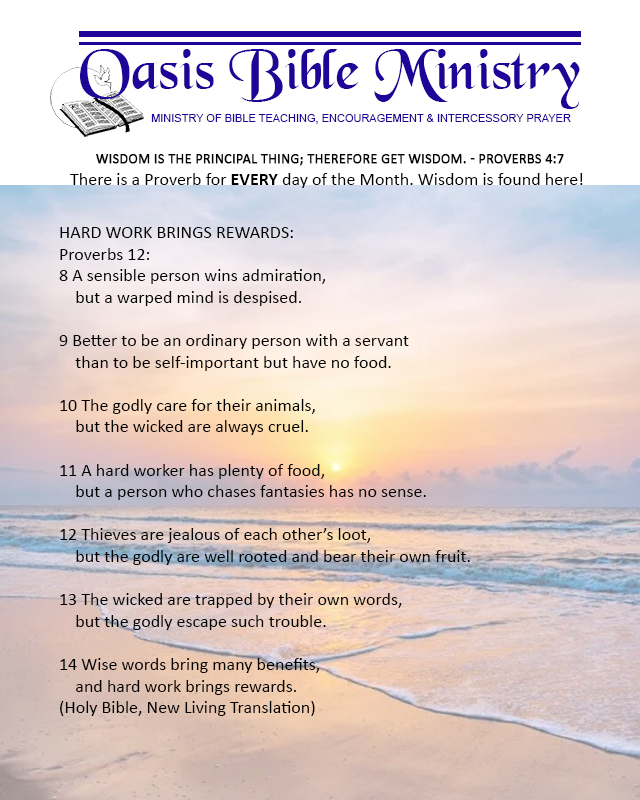 046 Proverbs 12_8-14