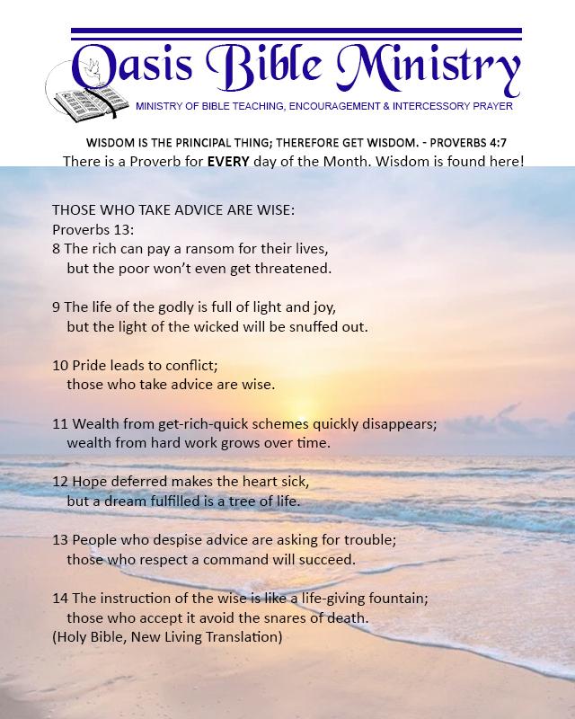 047 Proverbs 13_8-14