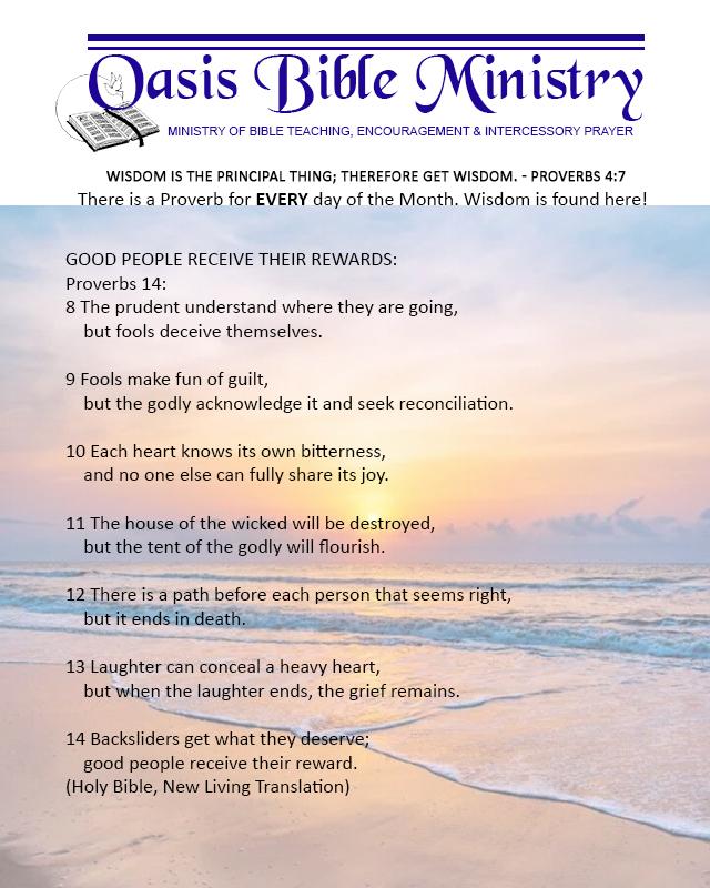 048 Proverbs 14_8-14