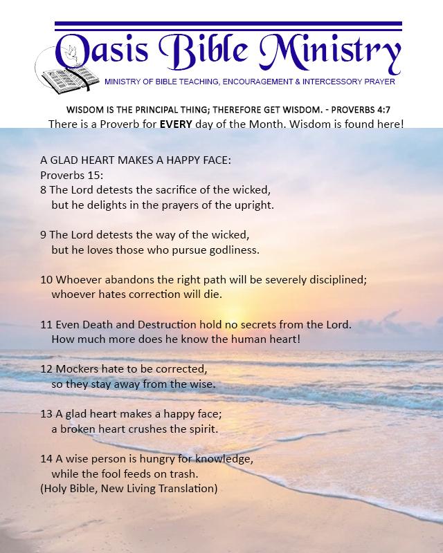 049 Proverbs 15_8-14