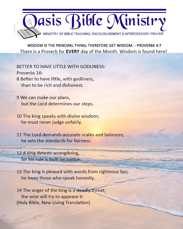 050 Proverbs 16_8-14