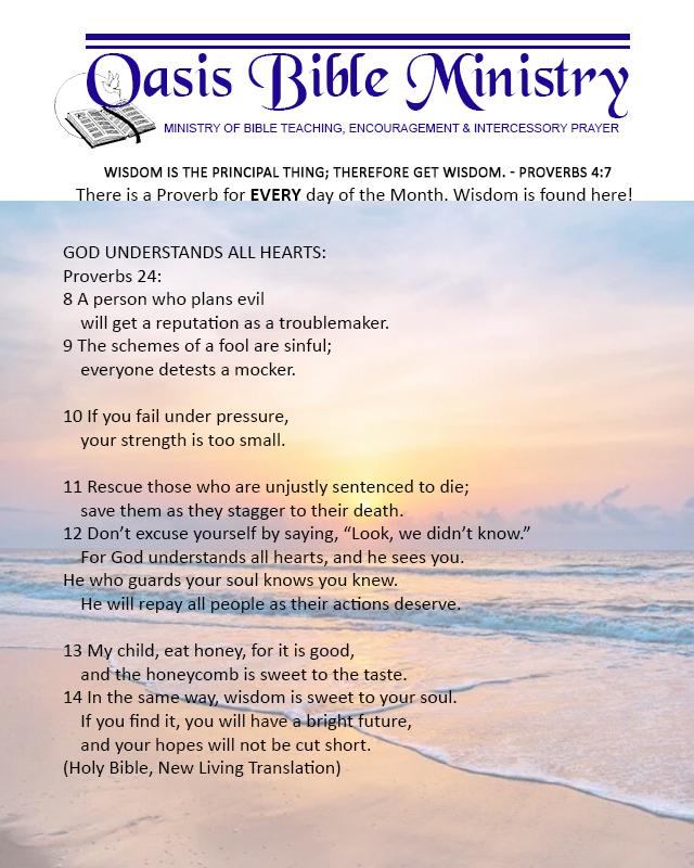 058 Proverbs 24_8-14