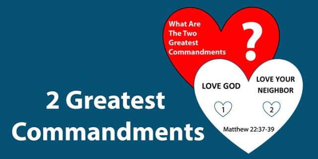 2 great commandments