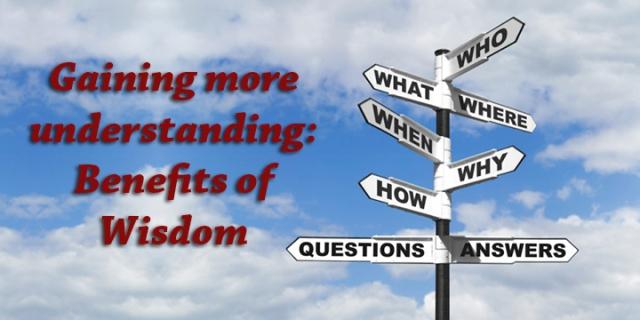 benefits of wisdom
