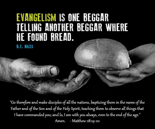 evangelism making disciples wp