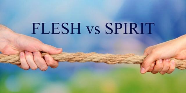 Flesh-vs-spirit