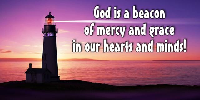 God is a beacon wp