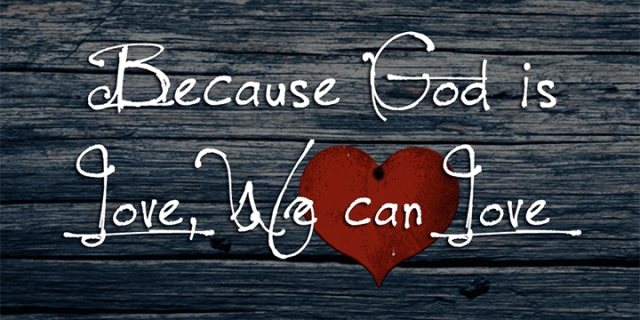 God is love wp