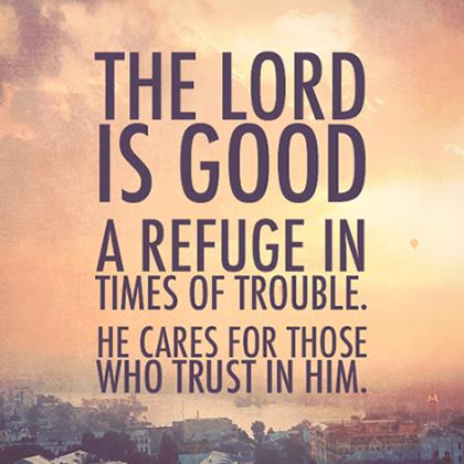 God is refuge wp