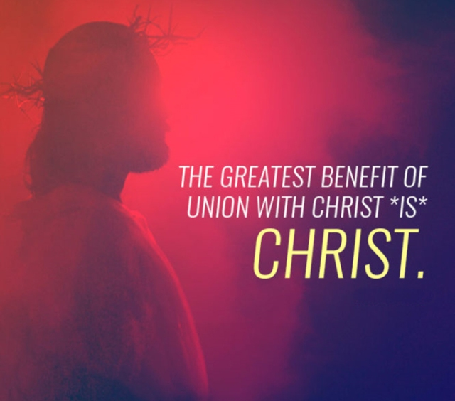greatest benefit of Christ