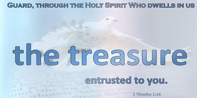 guard the treasure
