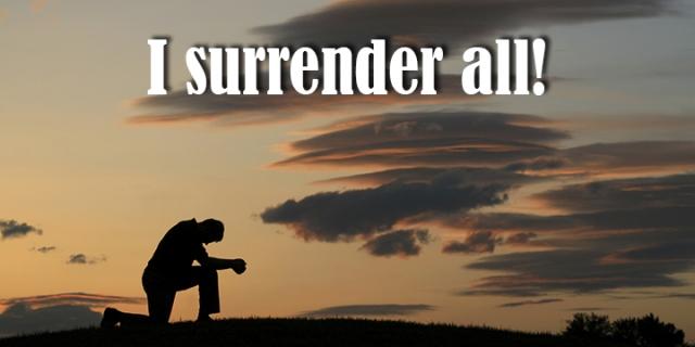 i surrender wp