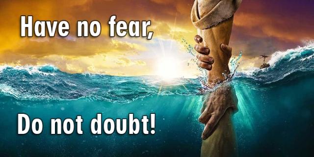 no fear no doubt