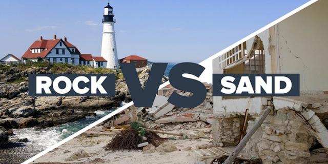rock vs sand