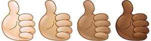 thumbs up - ml