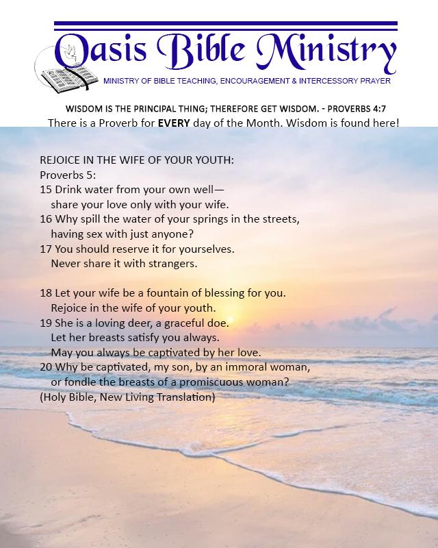 070 Proverbs 5_15-20