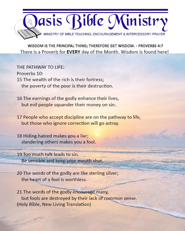 075 Proverbs 10_15-21
