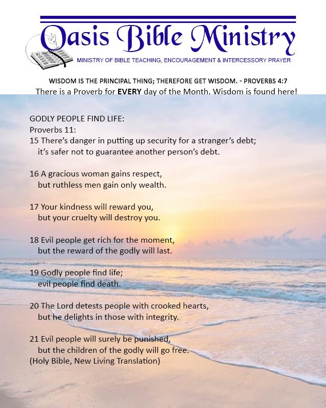 076 Proverbs 11_15-21